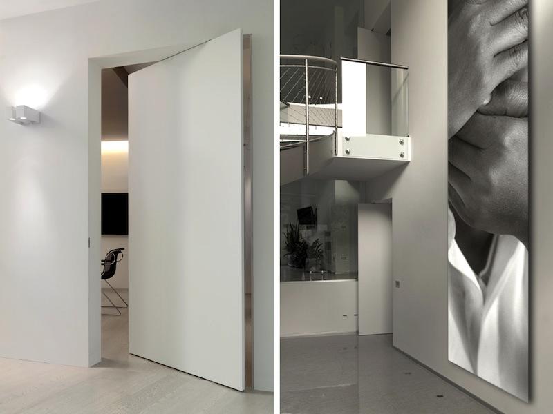 L 39 invisibile porte a totale filo muro fratelli bertonelli - L invisibile porte a scomparsa ...